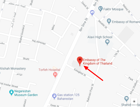 سفارت تایلند