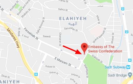 سفارت سوئیس