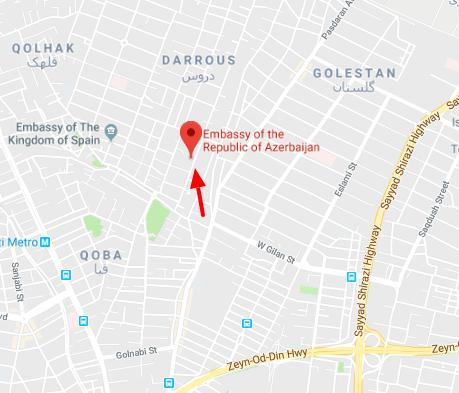 سفارت آذربایجان