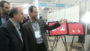 مهندس اولیا, دبیر کل سندیکای بیمه گران ایران ,غرفه یک پیام دیرتر, چهارمین کنفرانس بین المللی حوادث جاده ای